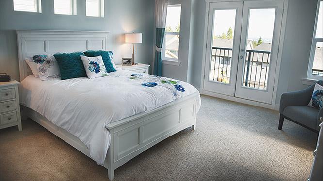 Bedroom carpeting