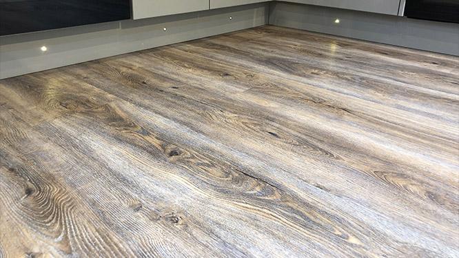 Lounge wood floor